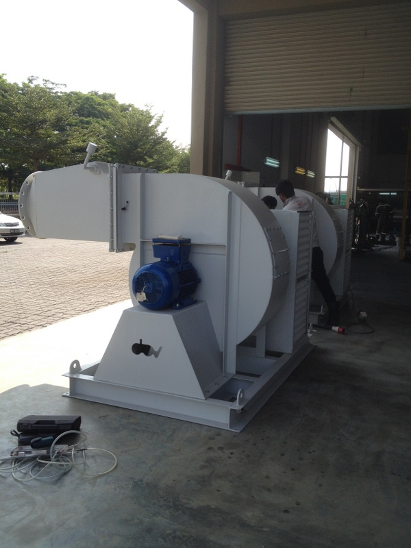 High Volume Low Pressure Blower : Blower fan centrifugal air dav engineering